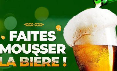 Sachez apprécier la mousse de votre bière!