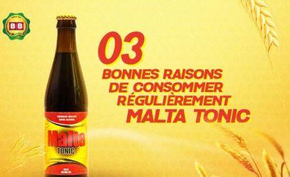 3 bonnes raisons de consommer régulièrement Malta TONIC