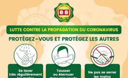 Augmentation des cas Covid, pas de relâchement à la BB Lomé
